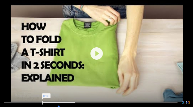 How To Fold A T Shirt In 2 Seconds - How To Fold A T-Shirt In 2 Seconds – Explained