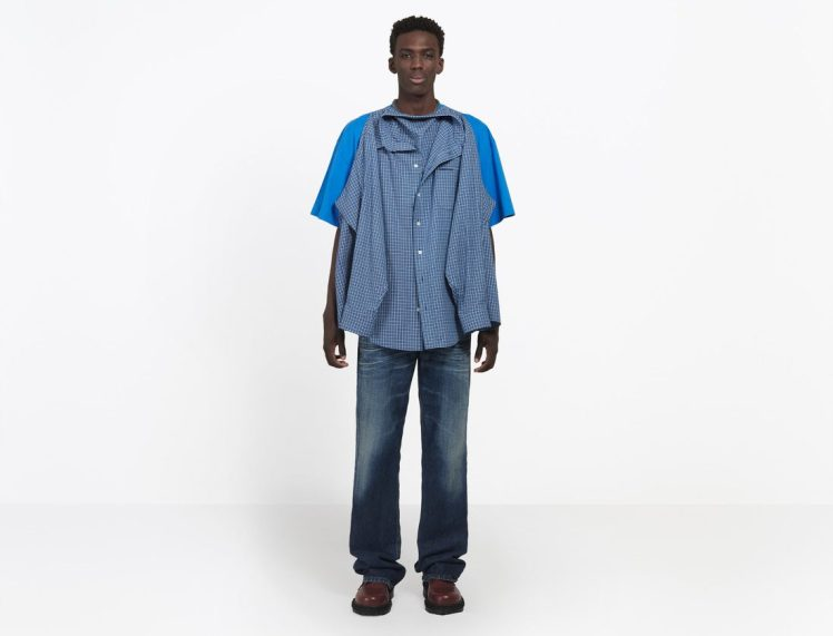 38757019tm 13 a g e1527513189644 - How about buying your boyfriend a £1,000 shirt-on-a-t-shirt from Balenciaga?